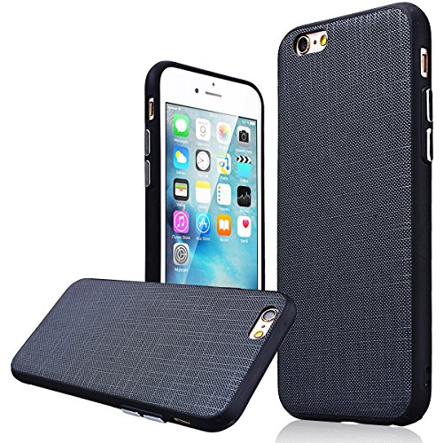 WE LOVE CASE iPhone 6 Plus / 6S Plus Coque, Étui de Protection en Premium Silicone Housse Souple et Mince, Ultra Slim Bumper Gel Cas Couverture Paillette Coque Pour Apple iPhone 6 Plus iPhone 6S Plus  noir