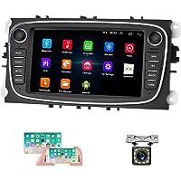 Android Autoradio pour Ford Navigation GPS CAMECHO Écran Tactile Capacitif de 7 Pouces Lecteur de Voiture Stéréo WiFi…