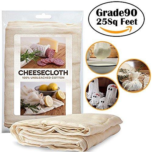Ashley city Kochen Gaze 25 qm Grade90 Wiederverwendbare 100% Baumwolle für Das Kochen, Sieb, Backen, Dekorationen