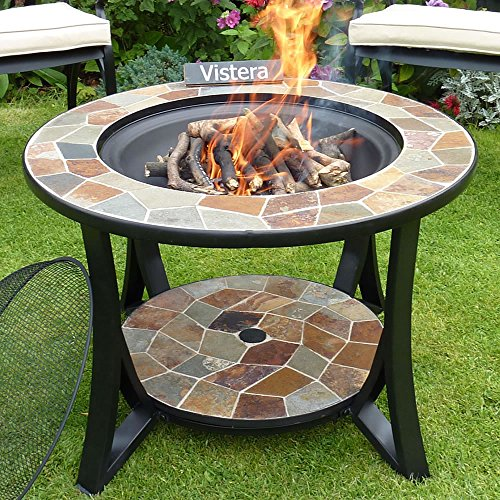 VISTERA MADEIRA SLATE MOSAIC FIRE PIT TABLE