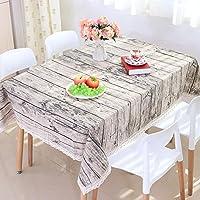 GS~LY Arredamento/romantico/caldo/letteraria di legno idilliaco in cotone a strisce di corteccia di imitazione tabelle House Hotel Ristorante applicabile party , 140*220
