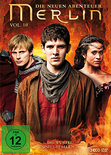 Merlin - Die neuen Abenteuer, Vol. 10 [3 DVDs] Camelot Film-dvd