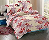 #9: Trance Home Linen 100 % Cotton Premium Printed Razai/Comforter/Duvet cover with 2 Pillow Covers - KING 102