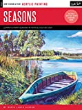 Acrylic: Seasons: Learn to paint the colors of the seasons step by step (How to Draw & Paint)