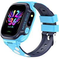 linyingdian Bambini Smartwatch IP67 Impermeabile, Waterproof Kids Smart Phone Watch GPS/LBS Tracker Orologio Anti Lost…