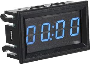 Auto Uhren Led Elektronische Digitale Leuchtende Auto Uhr Uhr Zubehör Dekoration Blue Auto