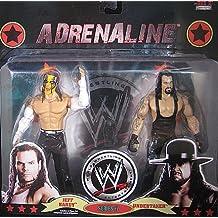 WWE Adrenalina 37 Jeff Hardy y Empresario de pompas fúnebres Figuras De Acción