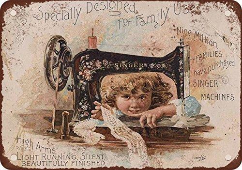 Cantante máquinas coser Vintage Look reproducción