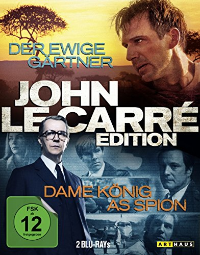 John le Carre Edition: Der ewige Gärtner/Dame König As Spion [Blu-ray]