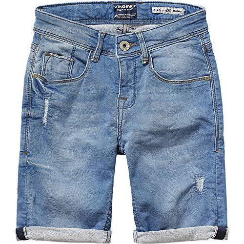 Vingino Cino Jungen Bermuda Destroyed Light Vintage (12-152) (Vintage Shorts Jungen)