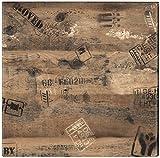 Tischplatte Werzalit, Dekor Ex Works 60x60 cm wetterfest Ersatztischplatte Bistrotisch Stehtisch Tisch Gastronomie