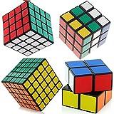 Shengshou Coleccion de 4 Cubos Speed Cube Speedcube 2x2x2 3x3x3 4x4x4 5x5x5 4261