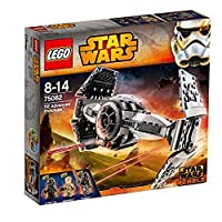 Hunt down rogue rebels on planet Lothal in the experimental LEGO Star Wars TIE Advanced Prototype. Developed from TIE Fighter design, The Inquisitors top secret starship is packed with advanced technology, like folding wings for flight and landing mo...