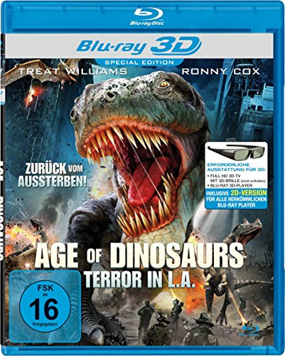 Age of Dinosaurs - Terror in L.A. [3D Blu-ray] [Special Edition]