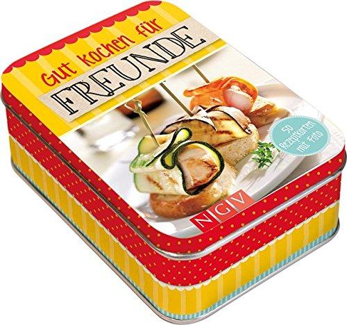 Rezeptbox Gut kochen für Freunde: 50 Rezeptkarten mit Foto