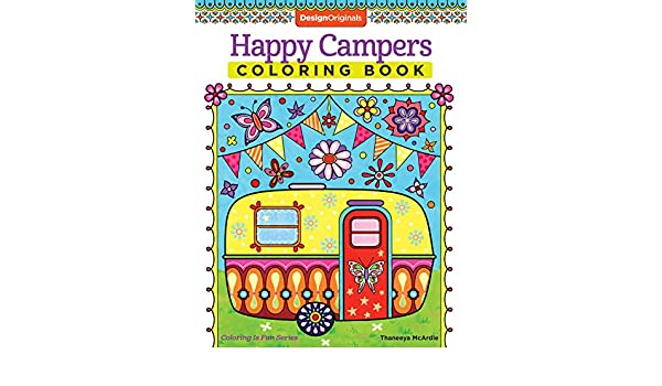 Buy Happy Campers Coloring Book Design Originals Online At Low Prices In India