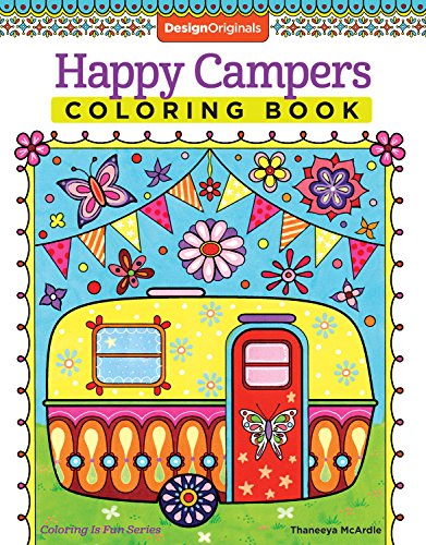 Happy Campers Coloring Book (Design Originals)