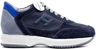 Hogan Sneaker Interactive Uomo H Flock Blu HXM00N0Q102N6Z50C3
