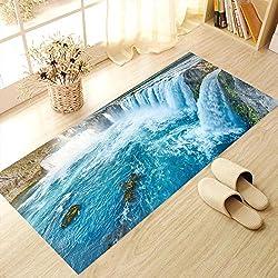 ZYHY3d cascata moda personalità decorativi piano stanza tappetini da bagno muro 60 * 120 cm