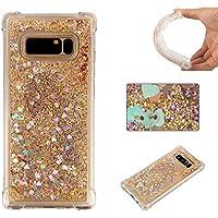 Shinyzone Samsung Galaxy Note 8 Hülle,Luxus Bling Flüssig Stoßfest Flexibel TPU Schutzhülle,[Slim Fit] Kristall... preisvergleich bei billige-tabletten.eu