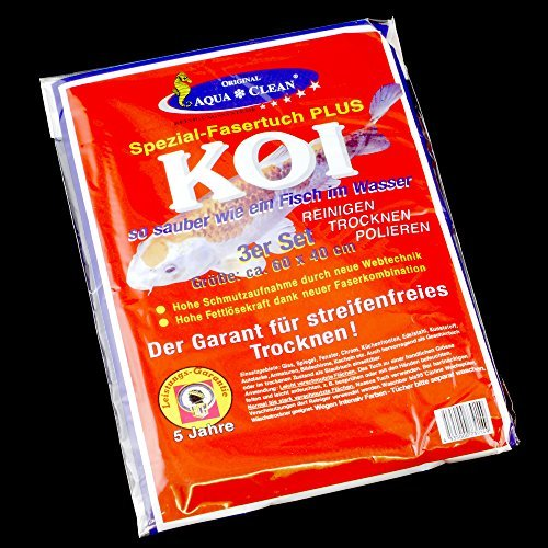 AQUA CLEAN Original Aqua*Clean KOI-Tücher---- 3er-Set