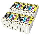 TONER EXPERTE 20 XL Druckerpatronen kompatibel für Epson 16 16XL Workforce WF-2010W WF-2510WF WF-2520NF WF-2530WF WF-2630WF WF-2650DWF WF-2660DWF WF-2750DWF WF-2760DWF WF-2540W WF-2540WF | hohe Kapazität