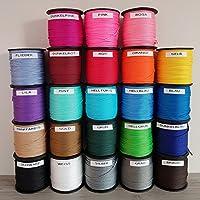 1,20 m PP-Polyester Schnur 1,5mm Ø Weiß oder GrauGeflochten Leinen Seil aus Polypropylen (PP) Kordel Schnullerketten basteln HOHE QUALITÄT Reißfest KOSTENLOSER VERSAND
