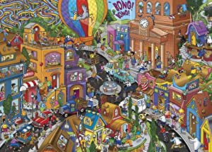 Gibsons World in A Hurry Jigsaw Puzzle (1000 Pieces)