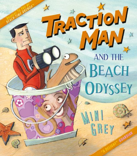 Traction Man and Scrubbing Brush are at the beach! Traction Man even has his special Squid-Proof Scuba Suit, perfect for exploring the secret crevices of the Rockpool. But there are adventures in store for our intrepid hero as he faces the thrills of...