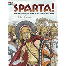 Sparta! (Dover Colouring Books) (Dover Coloring Books)