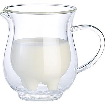 G1691: Sahnekännchen mit Deckel Emaille Creme Blümchen Milch Kännchen
