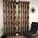 Home Sizzler Set of 4 Window Curtains - ...