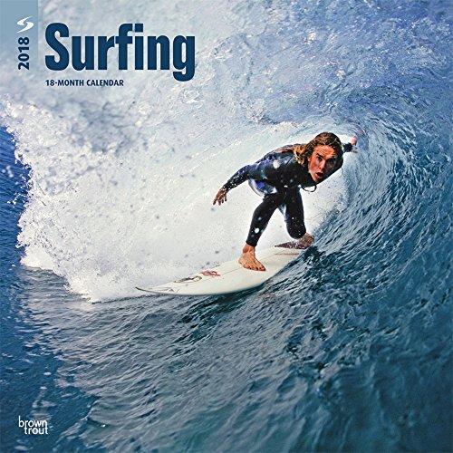 Surfing - Surfen 2018 - 18-Monatskalender: Original BrownTrout-Kalender [Mehrsprachig] [Kalender] (Wall-Kalender)
