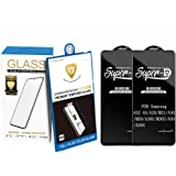 SANMUGEED [2 Pack] Tempered Glass Designed For Samsung Galaxy A32 4G/A20/M21/A30/M30/A30S/M30S/A50/A50S Screen Protector, Ant