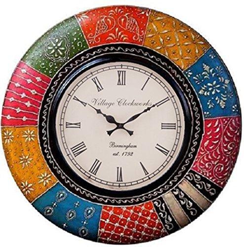 RoyalsCart Boistrous Colors Analog Wall Clock