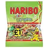 HARIBO Regenbogen Spaghetti Sour 180g (Packung mit 12 x 180g)
