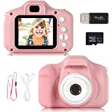 """ZStarlite Cámara Digital para Niños, 1080P 2.0""""HD Selfie Video Cámara Infantil, Regalos Ideales para Niños Niñas de 3-10 Años"""