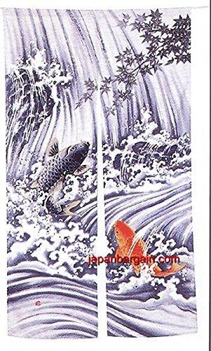 Japanische Noren türdurchgangs Vorhang Koi Fisch 88,9x 152,4cm pcos-59 (Noren Koi)