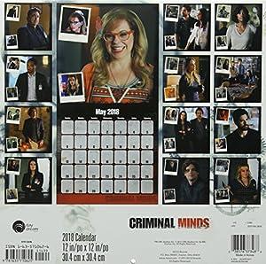 Criminal Minds 2018 Calendar