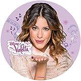 Tortenaufleger Violetta 02