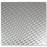 PME CCS834 Quadratische Tortenplatte 30 cm, Kunststoff, Silver, cm, 30 x 0.4 x 30 cm, 1 Einheiten