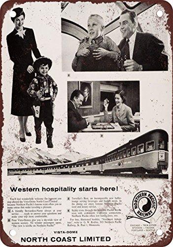 1957-del-norte-pacifico-costa-norte-limitada-vintage-look-reproduccion-metal-tin-sign-7-x-10-pulgada