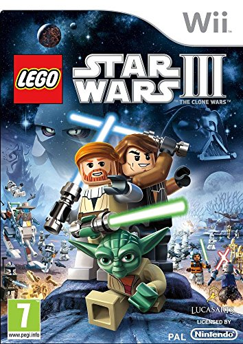 Lego Star Wars III Clone Wars (Nintendo Wii) [UK IMPORT]