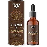 Beardhood 20% Vitamin C Face Serum with Hyaluronic Acid, 30ml | For Skin Brightening & Pigmentation| Anti-Ageing…