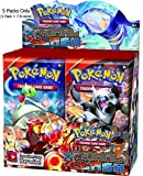#4: Pokemon XY Primal Clash Cards Booster Display: 5 Packs = 35 - 40 Additional Cards for Pokemon Trading Card Game (English)