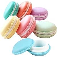 Boîte Macaron Petite Boîte Ecrin De Rangement Boîtes de Stockage Organiseur Forme Macarons pour Bijoux Collier, Lot de 6…