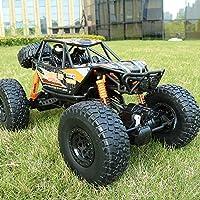 Markc Control remoto de coches en las cuatro ruedas vehículo todoterreno de gran tamaño de alta velocidad de ascenso modelo de simulación de los niños de carga en movimiento Boy Toy Racing regalo 1:10