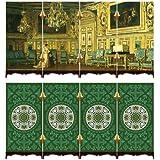 Doble Cara Plástico 3D Pantalla rompecabezas-Oval Salón de la Versailles Castillo