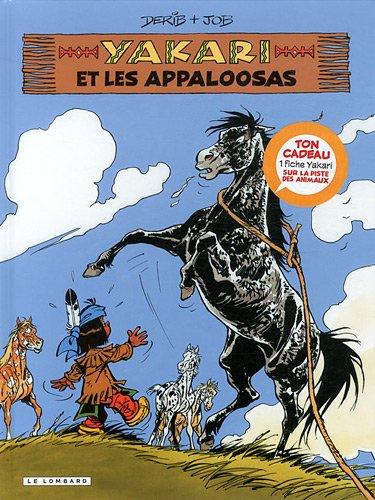 Yakari, Tome 31 : Yakari et les appaloosas + fiche animale
