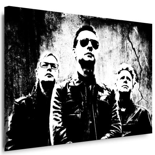 Fertige Mode (Kunstdruck Depeche Mode Leinwandbild fertig auf Keilrahmen / Leinwandbilder, Wandbilder, Poster, Pop Art Gemälde, Kunst - Deko Bilder)
